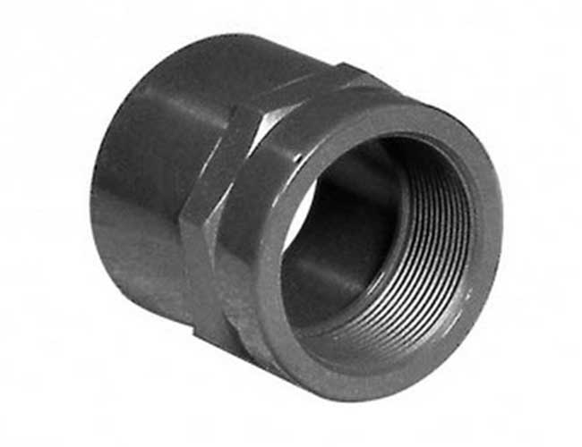"Quetschverbinder 25 x 1"" PVC Verbinder Fitting Muffe Rohr Fittings"