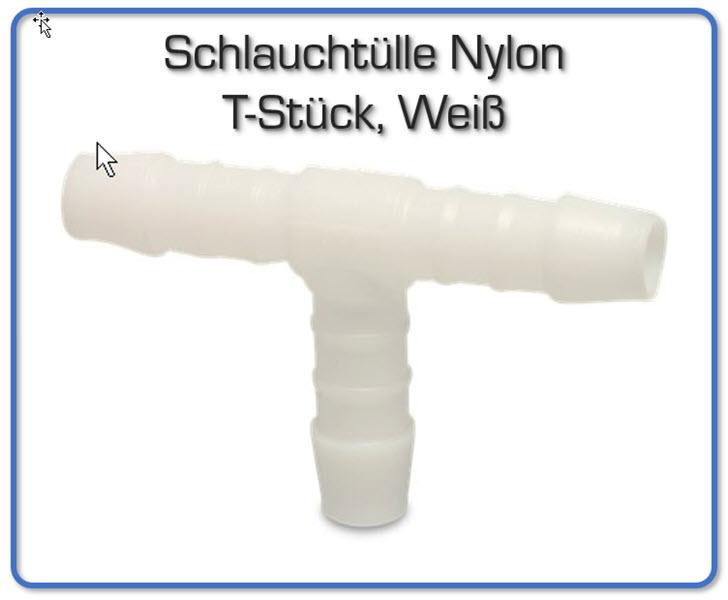 T-Stück für 3x 19mm Luftschlauch Verteiler Schlauchverbinder