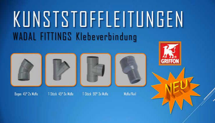 Wadal Fittings Mörteldeckel