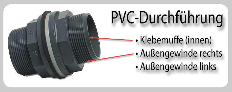 PVC-Durchführung