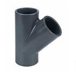 PVC-T-Stück 45° bei FITTINGE-SHOP